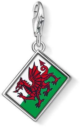 Thomas Sabo Wales Flag Charm