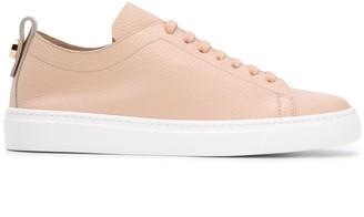 Henderson Baracco Embossed Round-Toe Sneakers
