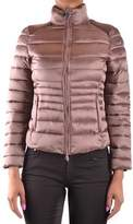 Invicta Women's Beige Polyamide Down Jacket.