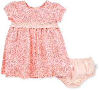 Burt's Bees Secret Garden Organic Baby Dress & Diaper Cover Set