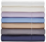 Hudson Park 500TC Sateen Iron Free Queen Fitted Sheet