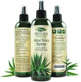 Green Leaf Naturals Organic Aloe Vera Gel Spray - 12 Ounce