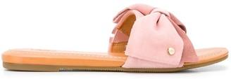 UGG Toe Strap Flat Sliders