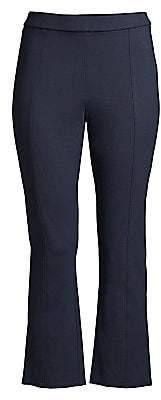 Tory Burch Women's Button Detail Ponte Flare Pants