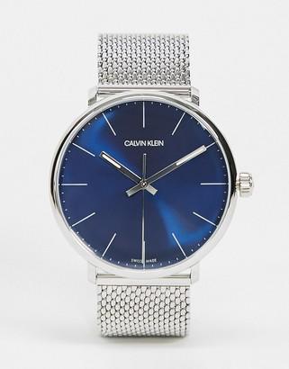 Calvin Klein watch with black dial