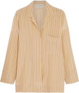 By Malene Birger Jamy striped silk shirt