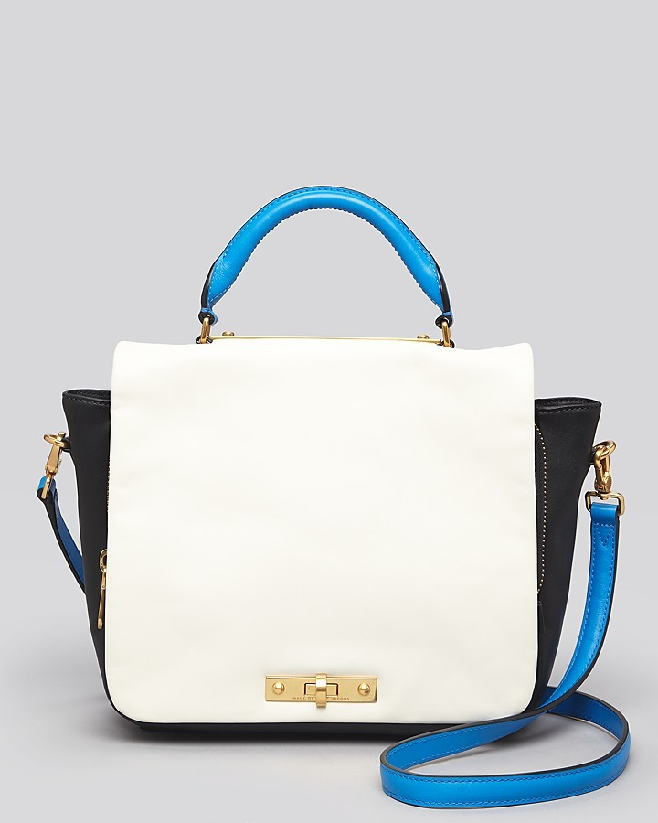 Marc by Marc Jacobs Satchel - Goodbye Columbus Colorblocked Top Handle
