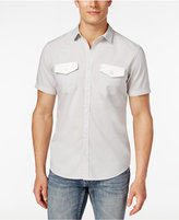 INC International Concepts Men's Osric Multi-Pocket Short-Sleeve Shirt, Only at Macy's