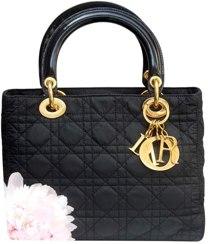 Christian Dior Lady cloth handbag