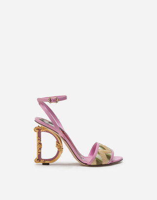 Dolce & Gabbana Giotto Sandals With Baroque Heel