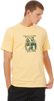Passport Pass Port No Way Out Mens Tee Yellow