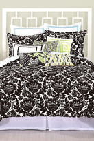Trina Turk Louis Nui Queen Duvet - Black/White