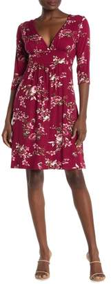 Loveappella Floral Midi Dress