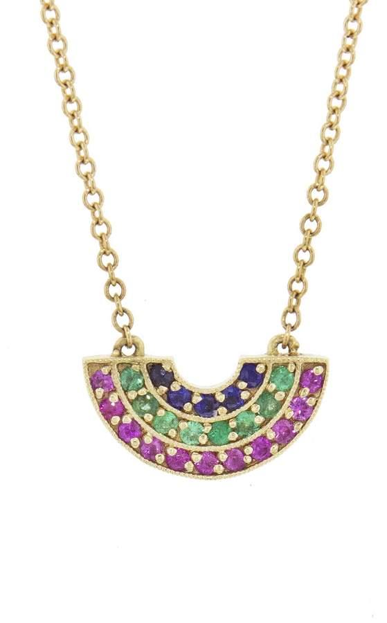 Andrea Fohrman Alternate Rainbow Necklace