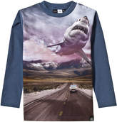 Molo Shark Print Robinson Tee