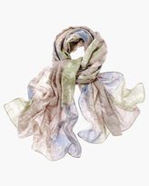 Chico's Winter Patchwork Scarf