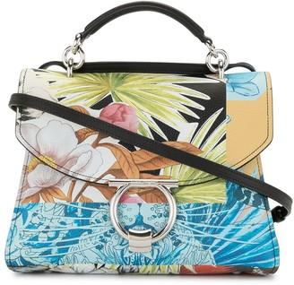 Salvatore Ferragamo Margot floral print bag