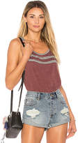Chaser Blocked Jersey Racer Back Tank