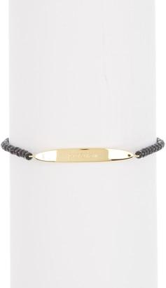 Gorjana Bespoke Power Gold-Plated Labradorite Adjustable Bracelet