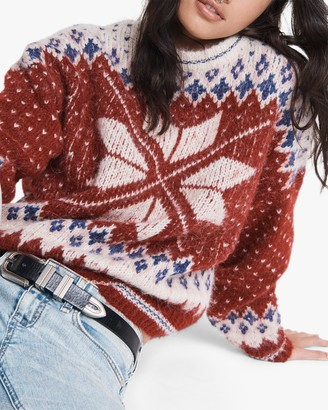 Rag & Bone Fran Sport Crewneck Sweater