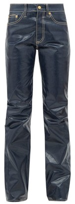 Eytys Cypress Coated Jeans - Womens - Navy