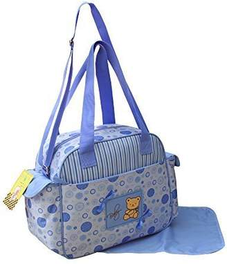 2-Piece Blue Baby Changing Bag, Nursing Bag, Baby Bag, Travel, Choice of Colour