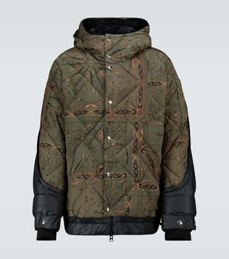 Sacai Dr. Woo Bandana printed jacket