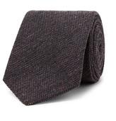 Loro Piana 8cm Slub Cashmere and Silk-Blend Tie