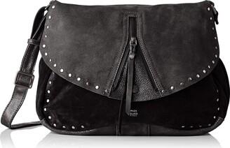 Mila Louise Womens 3319CVG Cross-body Bag Black Black (NOIR 01)