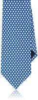 Salvatore Ferragamo Men's Dreidel-Print Silk Necktie