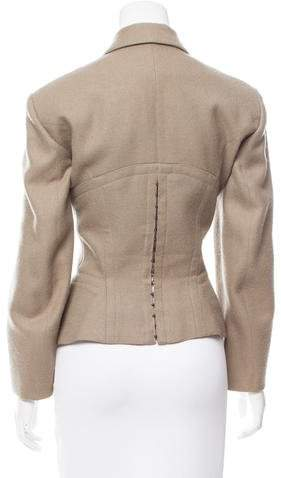 Alaia Tailored Wool Blazer