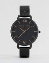 Olivia Burton After Dark Mesh Watch OB15BD83