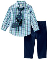 Little Me Multi Check Woven Pant Set (Baby Boys)