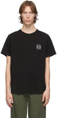 Loewe Black and White Anagram T-Shirt