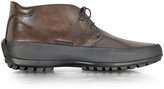 Pakerson Mud Leather Ankle Boot w/Rubber Sole