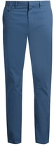 Stella Mccartney Straight-leg Cotton-gabardine Chino Trousers