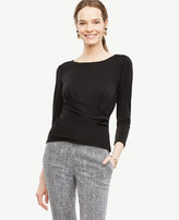 Ann Taylor Crossover Draped Top