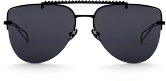 Saint Owen Nightrain Matte Black Aviator