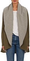 Barneys New York WOMEN'S RAPU FLEECE CARDIGAN