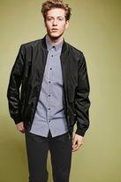 Next Mens Black/White Long Sleeve Gingham Shirt