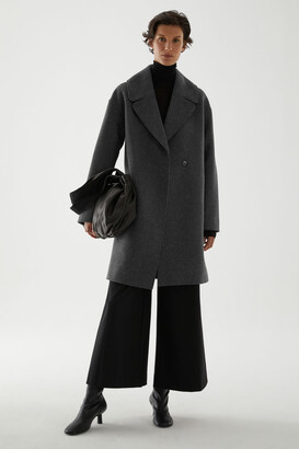 Cos Oversized Wool-Mix Coat