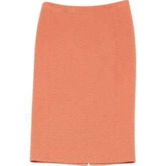 Moschino Orange Wool Skirts