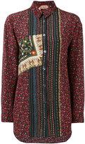 No.21 floral button up shirt - women - Silk - 40