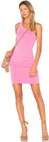 Sundry One Shoulder Dress in Pink. - size 0 / XS (also in 3 / L)