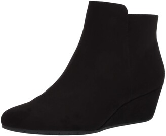 Kenneth Cole Reaction Women's Tip Plain Wedge Bootie Ankle Boot