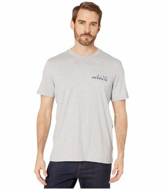 Lacoste Mens Short Sleeve Heavy Jersey 3D Regular Fit T-Shirt T-Shirt