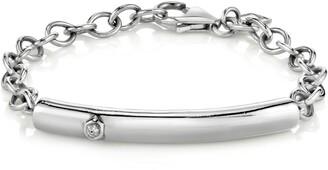 Sheryl Lowe Bezel Diamond Bar Bracelet