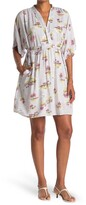 Thumbnail for your product : Love Stitch Hawaiian Print Front Tie Dress