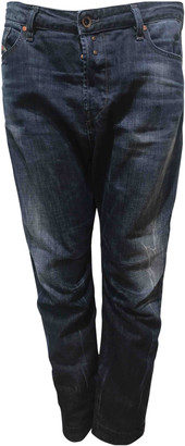 Diesel Blue Cotton Jeans