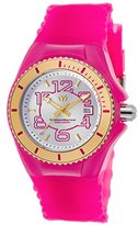 Technomarine Women's 'Cruise Jellyfish' Swiss Quartz Stainless Steel and Silicone Casual Watch, Color:Pink (Model: TM-115132)